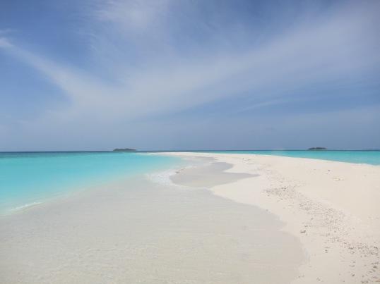 Stunning sand bank trip