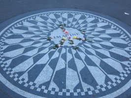 The John Lennon Memorial