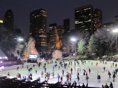 The Wollman rink at Central Park