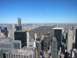 View from the Rockerfeller Centre
