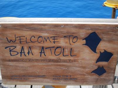 Sign at Four Seasons