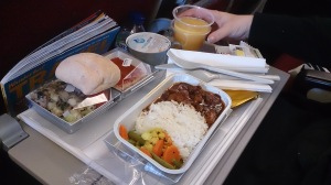 Malaysian Airways meal
