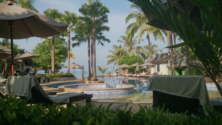 The view from the top of the Infinity Pool