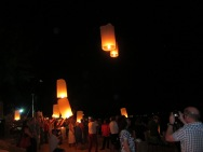 Chinese New Year Lantern release