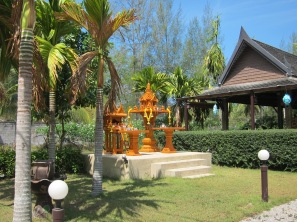 One of the many spirit houses
