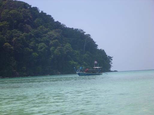 National Park boat